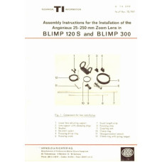 Arri assembly instructions angenieux zoom blimp 300