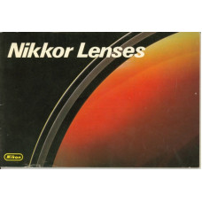 Nikkor lenses camera brochure nikon manual information