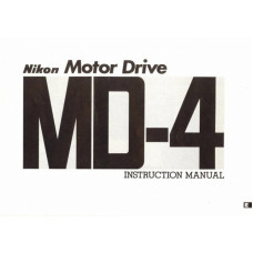 Nikon camera motor drive md-4 instruction manual