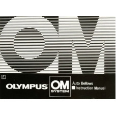 Olympus om system auto bellows instructions manual