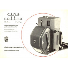 Linhof cine rollex 56x72 instructions german english