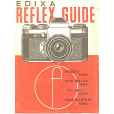 Edixa-mat slr reflex camera guide for use manual book