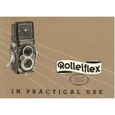 Rolleiflex 3.5f in practical use instruction manual