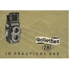 Rolleiflex 2.8e in practical use instruction manual tlr