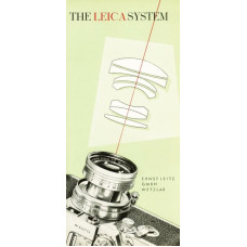 The leica system camera and lenses information sheet