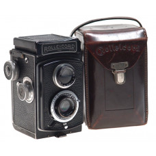 ROLLEICORD TLR CAMERA ZEISS JENA TRIOTAR 4.5/75 CASED