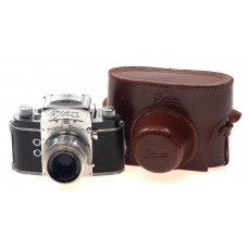 EXA IHAGEE CAMERA TYPE1.1 SLR 2.8/50 ZEISS TESSAR CASE