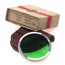 ROLLEIFLEX FILTER ROLLEI GRUN GREEN BAY 3 RIII BOX 2.8C