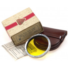 ROLLEI-FILTER HELLGELB YELLOW PLANAR BOX BAY RED R MINT