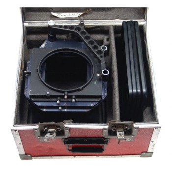 ARRIFLEX 35 CAMERA MATTE BOX 6x6 FLIGHT CASE 5 MASKS NR