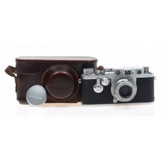 LEICA IIIf CAMERA ELMAR 3.5/5cm 3F RED DIAL SELF TIMER