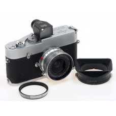 LEICA MDa CAMERA f=21mm FINDER SUPER-ANGULON FAST ULTRA WIDE ANGLE 1:3.4/21 HOOD
