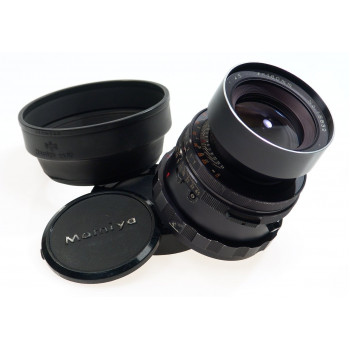 MAMIYA-SEKOR CAMERA LENS 4.5/180 RB67 f=180mm CAPS HOOD