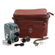 BAUER 8mm MOVIE CAMERA 88 KIT WTH 3 SCHNEIDER LENSES NR