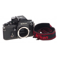 NIKON F2 PHOTOMIC DP-1 PRISM CAMERA 35mm BODY STRAP NR