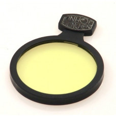 LINHOF 42mm SLIP IN CAMERA LENS FILTER YELLOW MINT NR