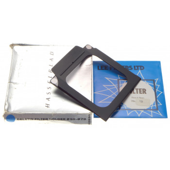 1 B LEE Filter gelatin filter holder HASSELBLAD 40690 Color 75mmx75mm box 50-70
