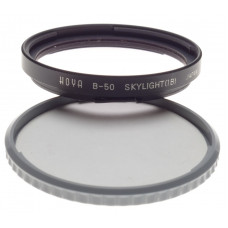 Hoya Skylight (1B) B50 bayonet mount filter HASSELBLAD camera lens accessory