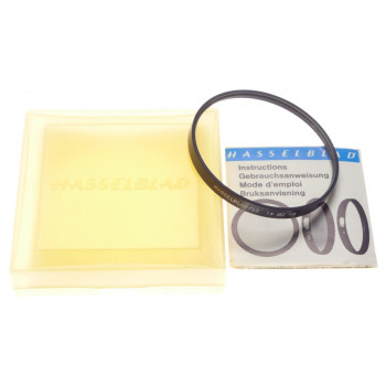 63 1x Hz -0 filter insert cased instructions HASSELBLAD camera lens accessory