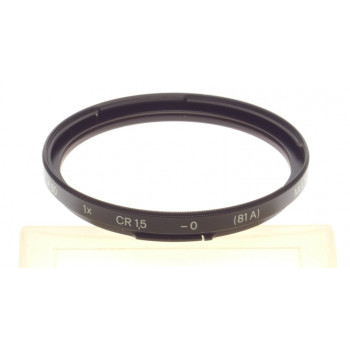 B60 1x CR 1,5 -0 (81A) bayonet mount 60 HASSELBLAD camera lens filter accessory