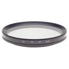 3x PL -1.5 (LIN) Polaroid filter 93mm diameter HASSELBLAD camera lens accessory