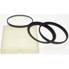HASSELBLAD/93 1x HZ -0 filter and rings cased camera lens accessory 93 diameter