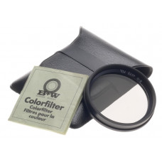 B+W COLORFILTER POLORIZING CAMERA LENS FILTER 49 ES POL SLEEVE MANUAL MINT 49mm