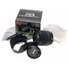 SMC PENTAX DA DIGITAL 18-135mm F3.5-5.6 ED AL IF DC WR CAMERA LENS NEW HOOD CAPS