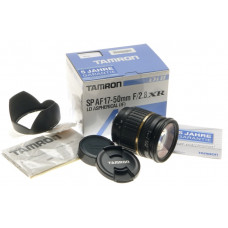 TAMRON SP AF 17-50mm F2.8/XR LD ASHPERICAL IF Di II NEW IN BOX CAMERA LENS KIT