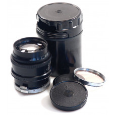 BLACK JUPITER-9 CONTAX CAMERA LENS MOUNT 2/85 FAST LENS