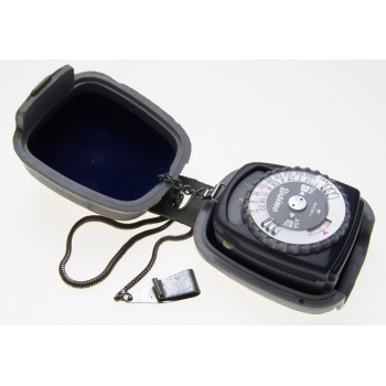GOSSEN SIXTINO GREY LIGHT EXPOSURE CAMERA PHOTOGRAPHIC METER CASED PERFECT NR