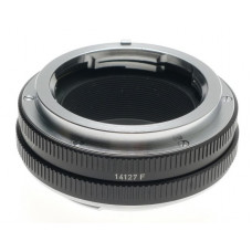 LEITZ 14127F WEZLAR BLACK M TO R LENS ADAPTER WITH APERATURE MINT CLEAN WORKING