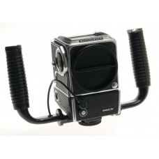 MEDIUM FORMAT CAMERA 500 EL/M MOTORIZED BODY ONLY WITH HASSELBLAD GRIP SCREEN