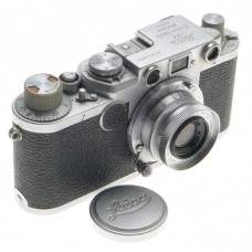IIF LEICA CHROME CLASSIC 35mm CAMERA LEITZ SUMMARON 1:3.5 f=3.5cm COMPACT LENS
