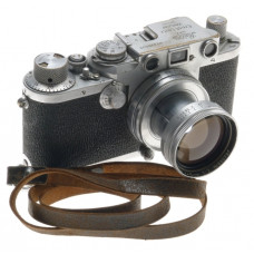 CAMERA IIIC RANGEFINDER USED 35mm FILM BODY WITH 1:2 f=5cm SUMMITAR LENS f=50mm