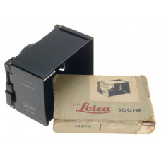 BOX SUMMICRON 2/50 SUMMITAR COLLAPSIBLE LENS HOOD SHADE BLACK LEICA SOOFM LEITZ