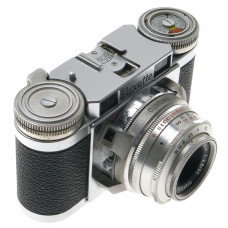 PAXETTE CHROME RANGEFINDER 35mm FILM CAMERA BRAUN-KATAGON 2.8/50mm STAEBLE LENS