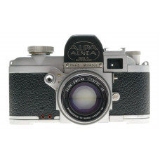 ALPA Mod. 5 RANGEFINDER CHROME CAMERA KERN-SWITAR 1:1.8/50mm AR LENS f=50mm HOOD
