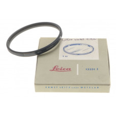 LEICA 13331 J UVa LEITZ WETZLAR LENS FILTER E85 LARGE BLACK PAINT FITS TELYT BOX