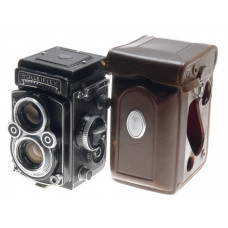 TLR ROLLEIFLEX 3.5F MEDIUM FORMAT CAMERA ZEISS 3.5/75 PLANAR 3.5 f=75mm LENS