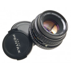 PENTAX-M SMC PRIME 1:2/50mm ASAHI BAYONET MOUNT SLR CAMERA LENS CAPS f=50mm NICE