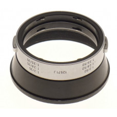 LEICA SUMMICRON 2/50 LENS HOOD SHADE 12571J 2/35 CLEAN 2.8/35 SNAP ON 2.8/50mm