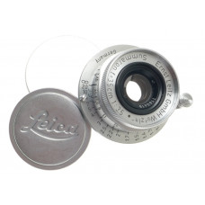 MINT- SUMMARON 1:3.5/35mm CHROME COMPACT 3.5 f=3.5cm NUMBERED LEICA METRIC LENS