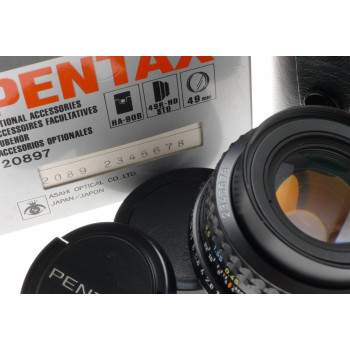 SMC PENTAX-A 1:1.7/50mm MINT PK CAMERA LENS f=50mm CASE BOXED RARE SERIAL NUMBER