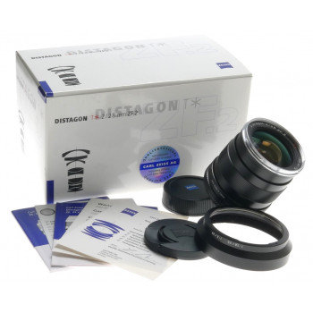 NEW ZEISS DISTAGON T* 1:2/28mm ZF.2 NIKON SLR CAMERA LENS WIDE ANGLE f=28mm BOX