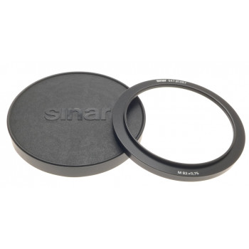 ADAPTER RING SINAR 547.81.057 LENS FILTER HOLDER M82x0.75 MINT CONDITION CAP