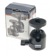 MANFROTTO 486 PROFESSIONAL CAMERA BALL HEAD JOINT BOXED COMPAICT MINT WITH LOCK