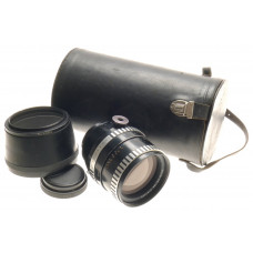 PENTACON 6x6 MEDIUM FORMAT SONNAR 2.8/180mm ZEISS COATED LENS HOOD CASE AND CAP