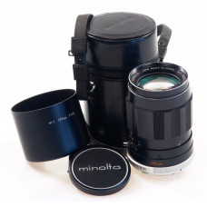 MINOLTA MC TELE ROKKOR-QD 1:3.5 f=135mm LENS CASE CAPS