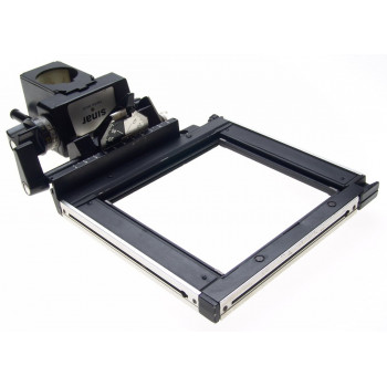 SINAR F FOCUSSING REAR STANDARD MONORAIL LARGE FORMAT CAMERA 4x5 BLACK ACCESSORY